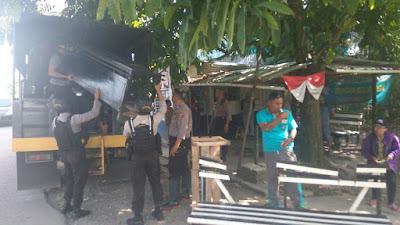 Oknum Polisi Ancam Bunuh Wartawan dengan Senjata Laras Panjang