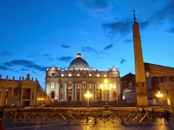 spietro night - Os obeliscos de Roma