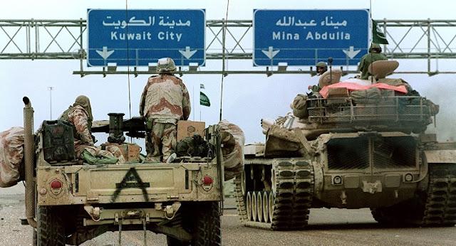 Kuwait ofereceu ajuda para reconstruir o Iraque após a vitória de Mossul, mas quem deveria fazer isso era os EUA