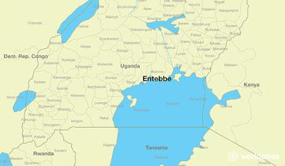 : A glance at Entebbe, an air terminal into Uganda