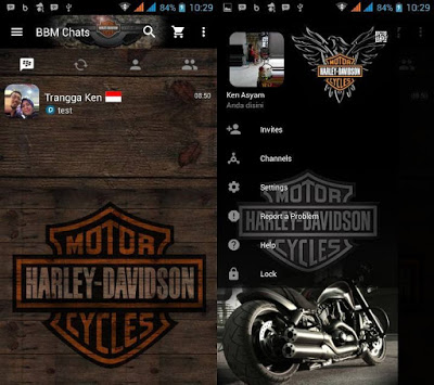 BBM Mod Otomotif Harley Davidson