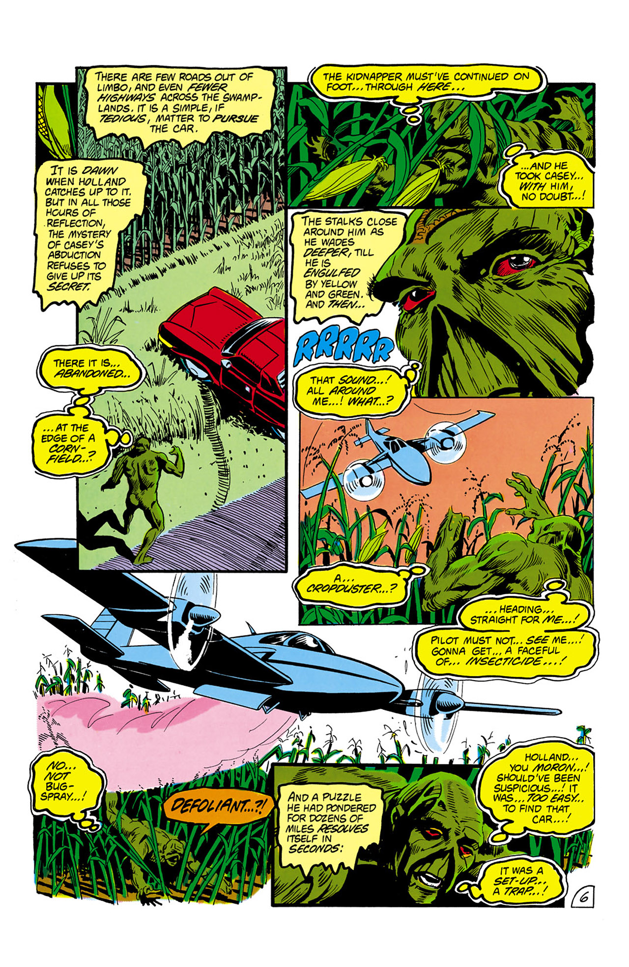 Swamp Thing (1982) Issue #2 #10 - English 7