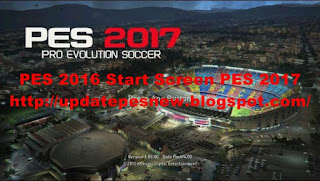 Download Start Screen PES 2017 For PES 2016