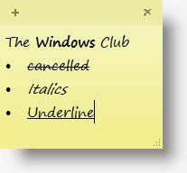 Sticky Notes in Windows 7 / 8: Tips to use, save, format, backup, restore