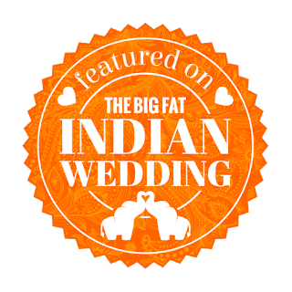 st george wedding featured on the big fat indian wedding