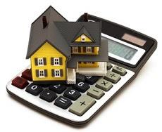 Casa y calculadora