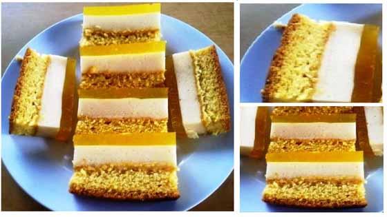 Resep Praktis Membuat Puding Lapis Kue Rumahan Bikin Nagih 1 Potong Mana Cukup !!