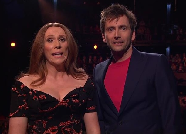 David Tennant and Catherine Tate hosting Shakespeare Live!