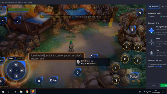 Cara Instal Laplace M di Tencent Gaming Buddy Emulator