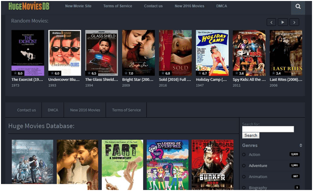Top Best Movie Streaming Sites