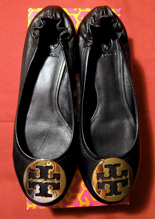 20a1f716d76 Tory Burch Revas (shown above) and Caroline flats (shown below)