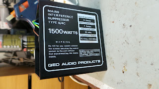 QED Mains Interference Suppressor 6/4C