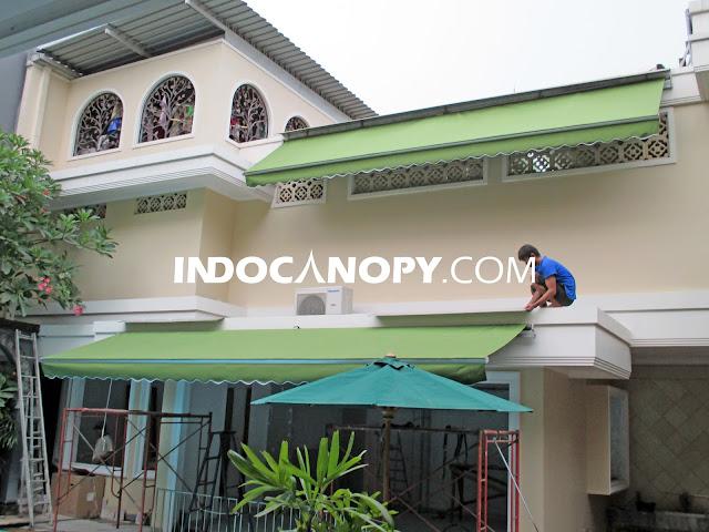 Jasa Pasang Awning Gulung Tangerang