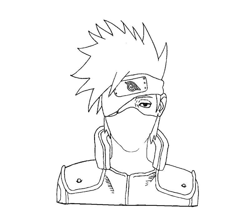kakashi sketch lifeful