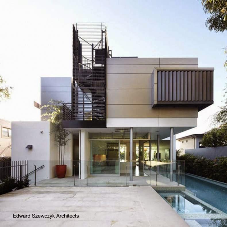 Residencia contemporánea con piscina