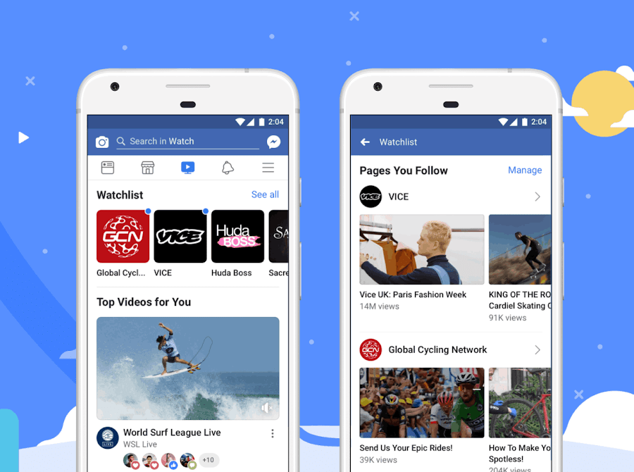 Facebook's latest change to Watch makes it more like YouTube