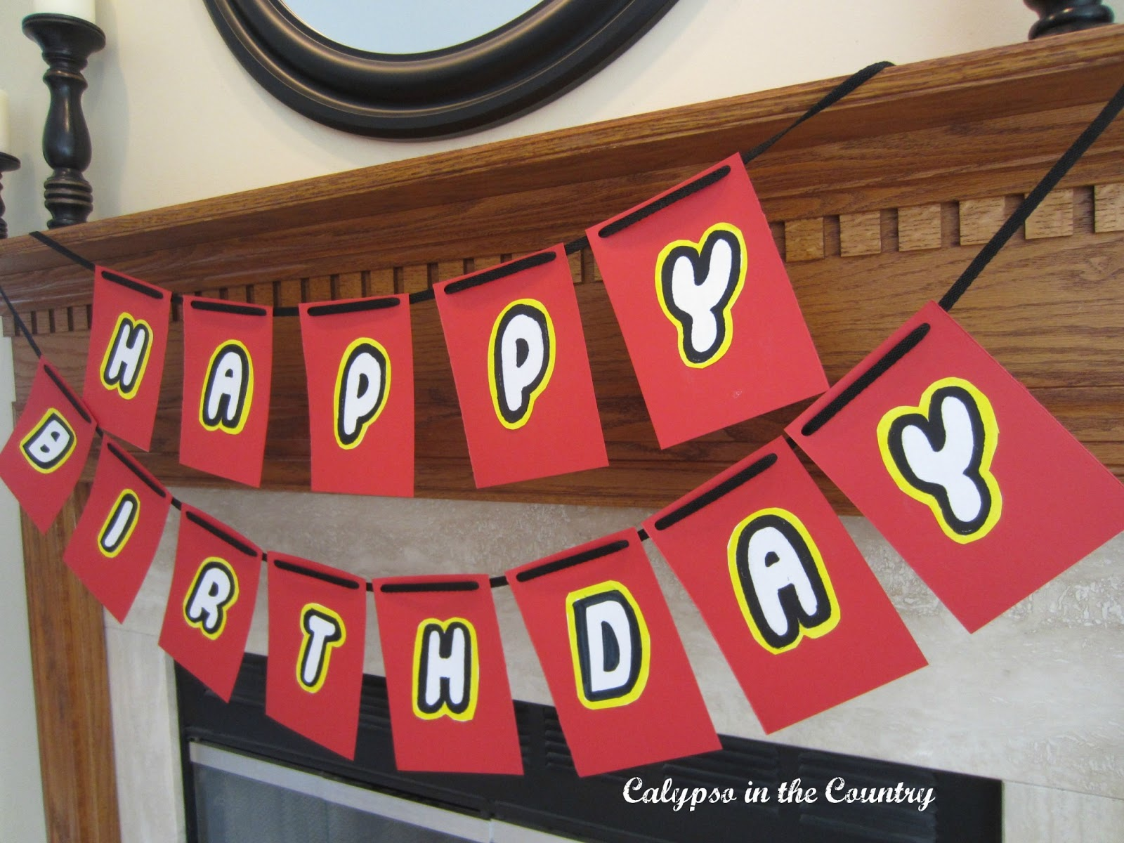Lego Party Banner for Lego Themed Birthday Party