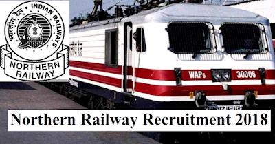 Sports Quota Northern Railway Recruitment 2018 - Apply Online
