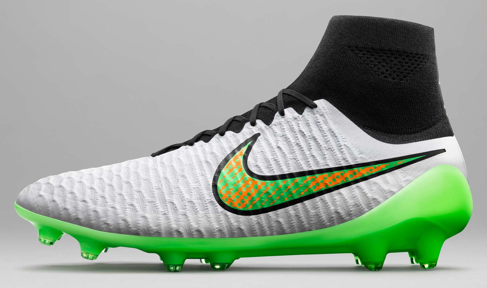 Nike White 2015 Football Boots Pack Shine Through