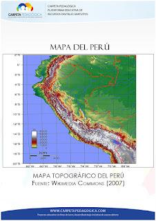 Mapa Topográfico del Perú