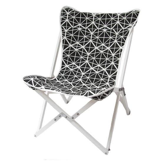 Safari Fusion blog   Colour crush / black and white   Tripolina Chair (facet) by Safari Fusion   Image © Safari Fusion