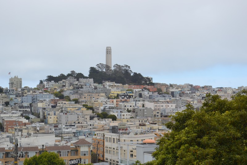 San Francisco, Russian Hill, Californie