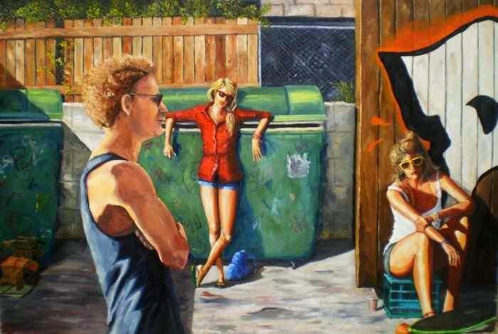Современный британский художник. James Needham