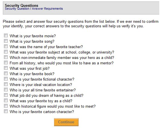 Personal Security Quiz