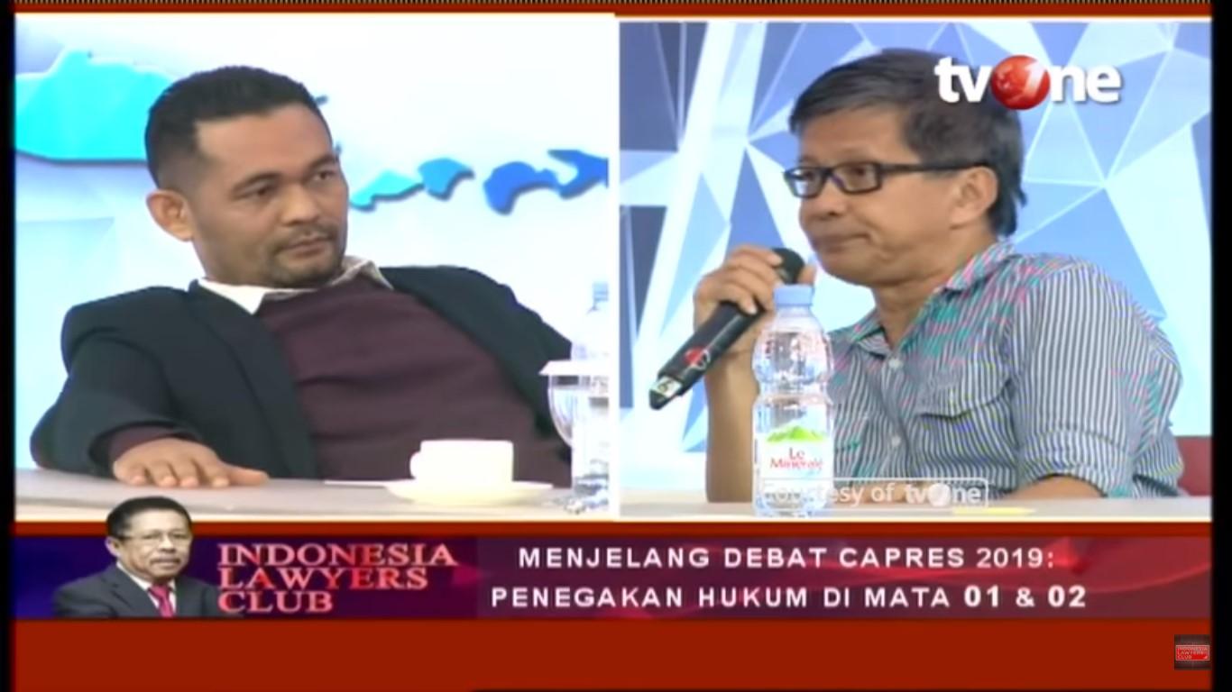 Rocky Gerung: Apakah Jokowi Bisa Jawab, Prabowo Terlibat Pelanggaran HAM 98?
