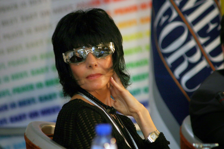 Наталья Разлогова. 6-й Медиа Форум, Алматы, апрель 2007