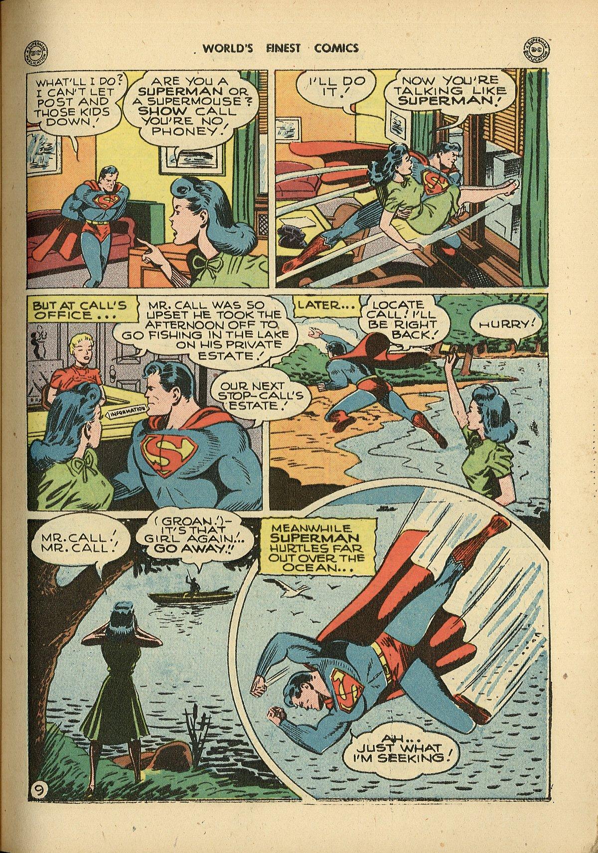 Read online World's Finest Comics comic -  Issue #26 - 11