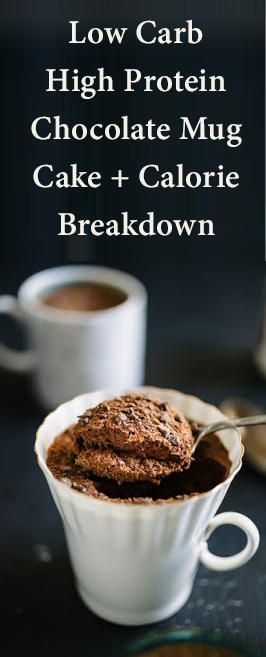 Low Calorie Vanilla Mug Cake