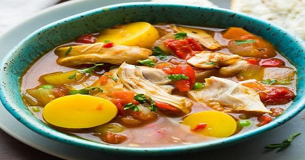 Slow Cooker Spanish Chicken Stew  Recipe