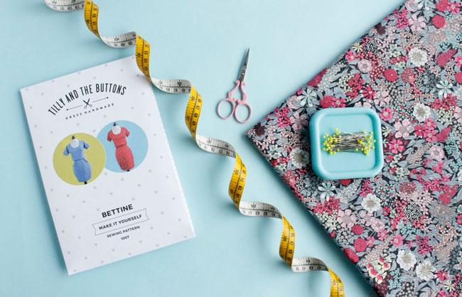 Bettine sewing pattern + Liberty fabric = winner!