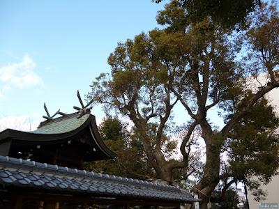 蒲田神社本殿