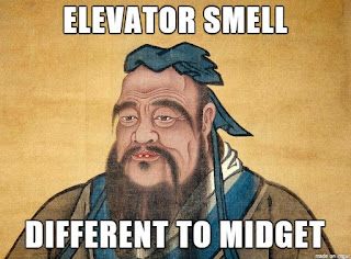 Rudest Confucious Say funny joke picture