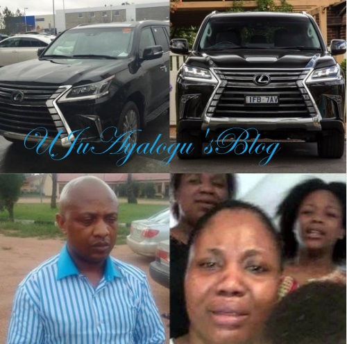 Evans' Wife Drove Latest 2016/2017 Lexus - OAP, Freeze Reveals