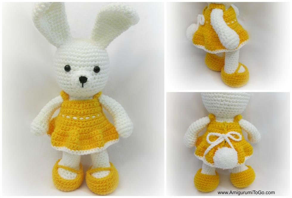 Amigurumi bunny with long ears - Amigurumi Today - Amigurumi ... | 665x980