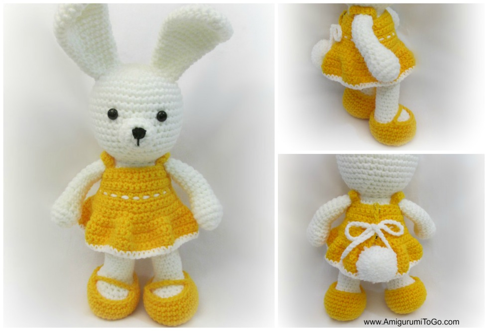"Zan Crochet: Amigurumi Bunny ""Si Kelinci"" | 665x980"