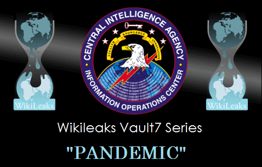 Wikileaks Vault 7 Releases New CIA Tool 'Pandemic'