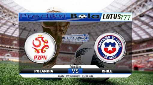 Prediksi Skor Polandia vs Chile 9 Juni 2018