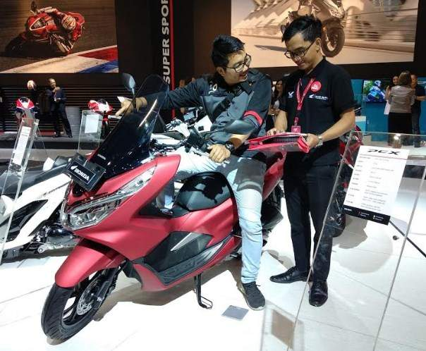 Honda PCX 150 Motor Honda terlaris di IMOS 2018