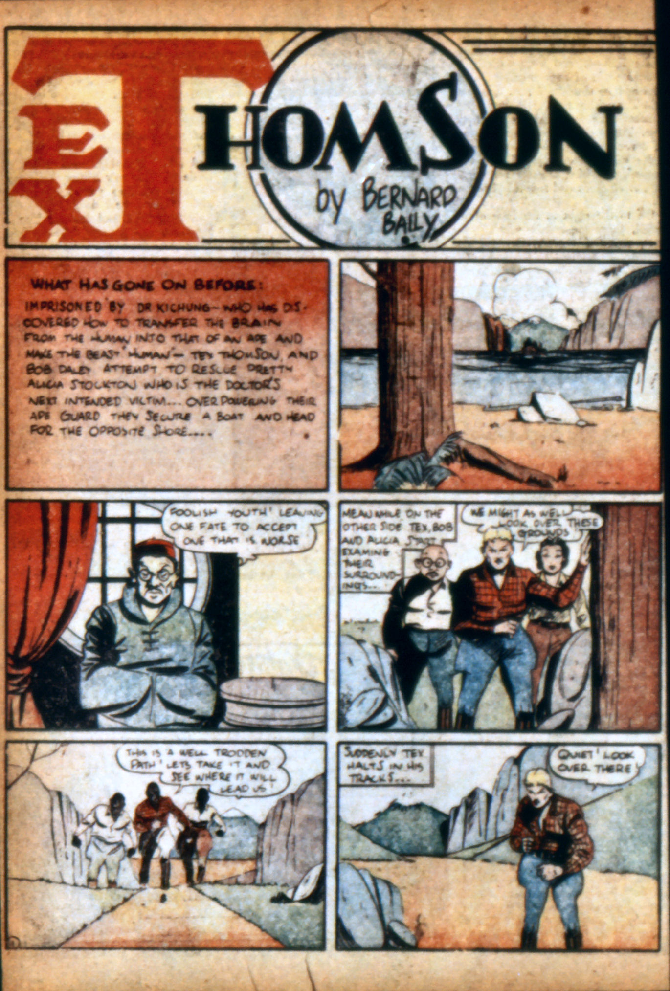 Read online Action Comics (1938) comic -  Issue #9 - 37