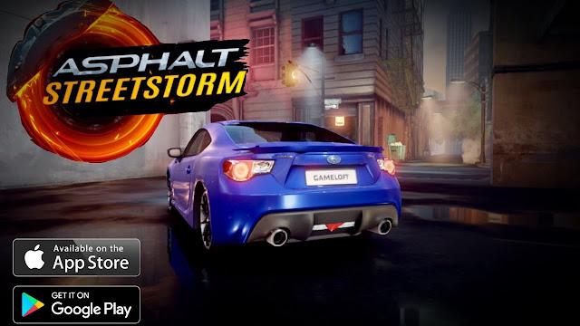 Asphalt Street Storm Racing APK OBB v1.1.5f