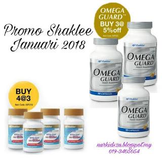 Promo Shaklee Omega