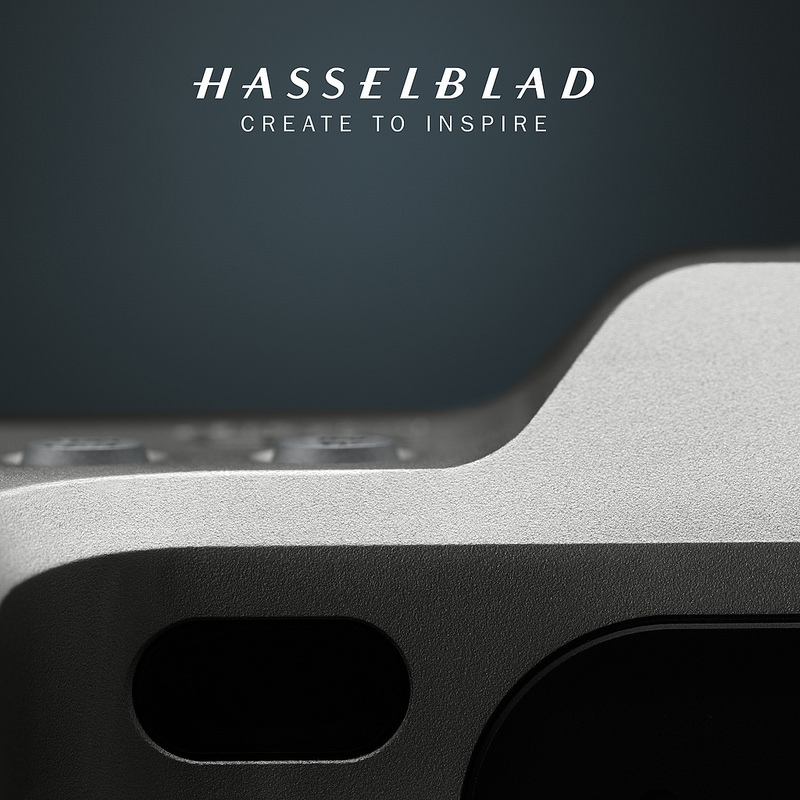 Часть изображения новой камеры Hasselblad