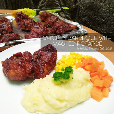 Resep Ayam Barbeque Dengan Mashed Potatoe By @dapurwafda