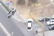 Astonishing! On the Road, 2 The Car Is Suddenly Hovering / Flying