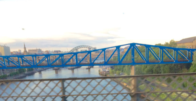 view of Tyne from Train