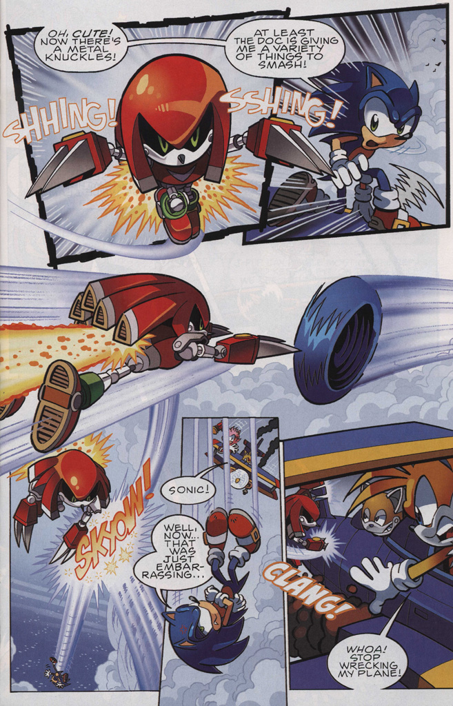 Read online Sonic The Hedgehog comic -  Issue #243 - 9